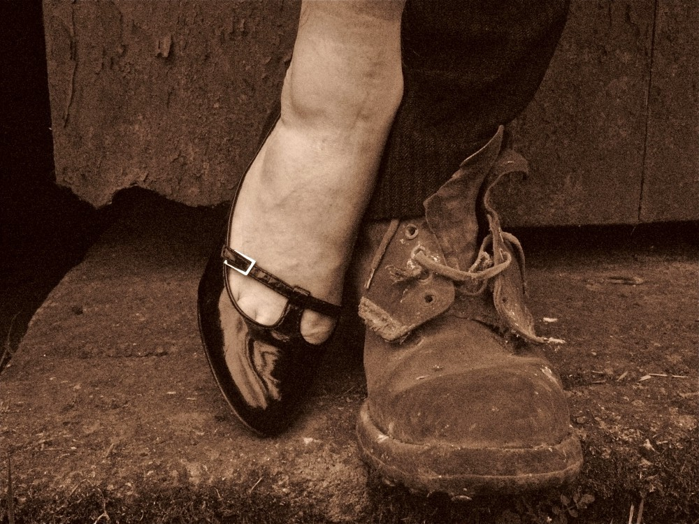 The Man in the Woman's Shoes